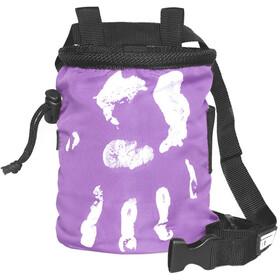 LACD Hand of Fate Chalk Bag with Belt dark purple